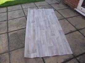 New Wood Plank effect vinyl flooring (Small Bathroom/Toilet)