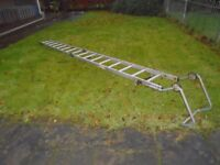 fold roof ladder
