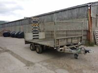 Ifor Williams 12 foot Trailer with Loading Ramp