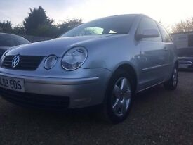VW POLO 1.4S 3DR 2003 AUTO AUTOMATIC IDEAL FIRST CAR