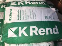 40 bags off white k Rend