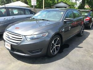 2015 FORD TAURUS SEL AWD - SUNROOF, NAVIGATION, LEATHER HEATED S