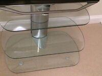 Glass TV Stand (Skyline 750) - Good Condition