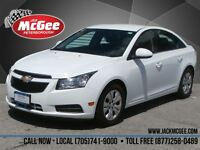 2014 Chevrolet Cruze LT Turbo - Rear Cam, Colour Touch Screen, B