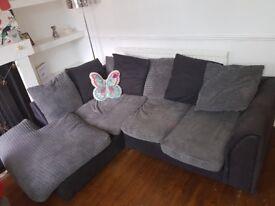 Lovely L shaped sofa