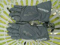 Alpine Stars Motorbike Waterproof Gloves (M)