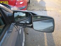 Caravan Towing extension mirrors