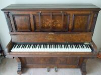 Metal Frame Upright Grand Piano