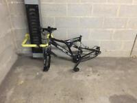 Mountain bike frame - all it needs is two wheels and seat