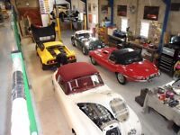 CLASSIC CAR RESTORATION WORKSHOP REQUIRES EXPERIENCE MECHANIC