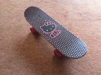 Hello Kitty mini Skateboard