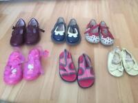 Girls shoe bundle infant sizes