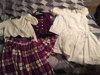Aboyne (national) highland dancing outfit purple £250 ono