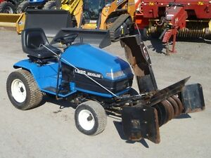 2000 New Holland LS35 Lawn Tractor w/Snowblower