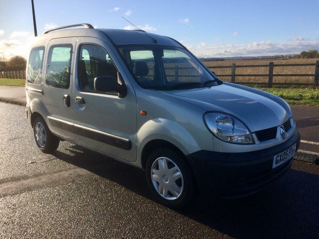 RENAULT KANGOO 1.2 AUTHENTIQUE WHEELCHAIR RAMP ACCESS DISABLED **VERY LOW MILEAGE**