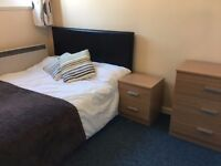 Double and small double room available in friendly houseshare, cleaner, parking, all bills included