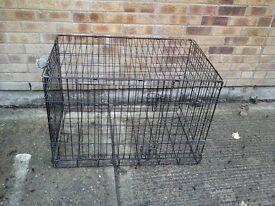 dog cage black £20