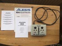 Audio Interface - Alesis iO2 Express - Brand New