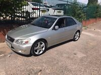 Remaped Lexus IS200 SE 5 Door saloon Automatic 2.0L Petrol Sports !2 Month MOT Fully Loaded