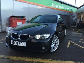 2008 BMW 320D M SPORT COUPE | FULLY LOADED! OPTIONAL EXTRAS! E92 BLACK