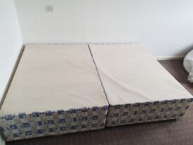 double bed only frame