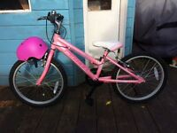 Girls bike never been used
