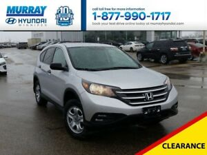 2014 Honda CR-V LX AWD with Bluetooth and Heated Seats