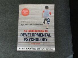 An introduction to Developmental Psychology, A. Slater, G. Bremner