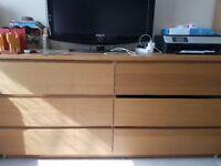 ikea MALM 6 drawer chest