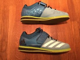 Men's Adidas powerlifting shoes size 8