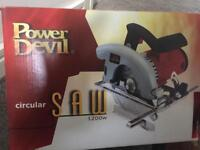 Brand new circular saw