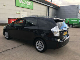 64 reg 2014 toyota prius plus icon 1.8 hybrid automatic, 1 owner, only 85k f/s/h hpi clear 100%