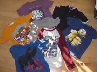 Boys bundle of clothes all tops 7-8 yr olds