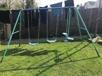 Garden Swing & seasaw set