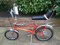 RALEIGH CHOPPER. WANTED.