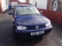 2004 VW Golf ( petrol ) mileage:92524 6 months MOT,