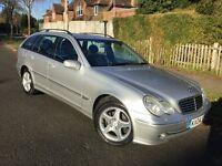 Mercedes C200 Kompressor Avantgarde SE Auto estate – V RARE CAR !