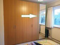 IKEA PAX Single Wardrobe - Mirrored Door - Tall