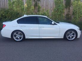 2012 (62) PLATE NEW SHAPE BMW 320D M SPORT IN ALPINE WHITE STUNNING EXAMPLE