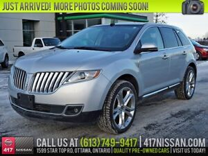 2013 Lincoln MKX Limited | Navi, Pano Moonroof, Leather Htd Seat
