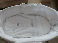 Moses Basket with stand Mothercare