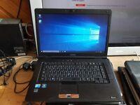 Perfect working order Toshiba tecra a11 windows 10 500g hard drive 6g memory webcam