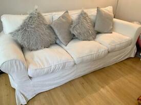 Ikea Ektorp three seat sofa (washable covers)
