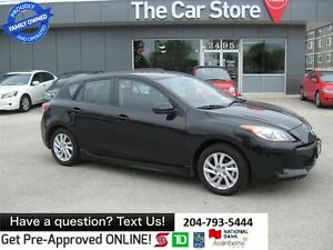 2012 Mazda MAZDA3 GS-SKY HTD SEATS BLUETOOTH USB