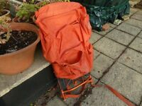 Campari Everest Aluminium framed rucksack late 1960s