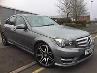 MERCEDES C220 CDI AMG SPORT PLUS BLUE-EFFICENCY, 7-G TRONIC, MAP PILOT, PARK-TRONIC, HPI CLEAR