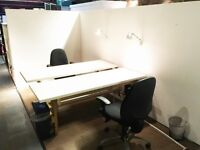 Shoreditch LOW COST DESK SPACE up to 4 available, 100mb internet