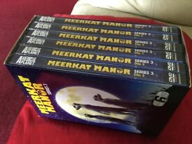 MEERKAT MANOR BOX SET DVD - SERIES 3