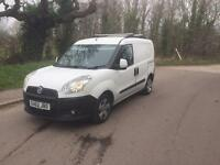 2013 62reg Fiat Doblo 1.3 Turbo Diesel White Very Good Condition