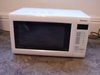 Panasonic NN-CT552W Slimline Combination Microwave , Grill and Convection Oven White
